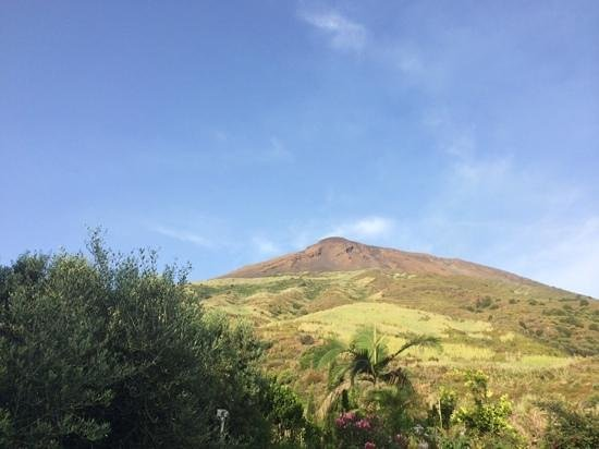 Residence Aquilone: vista sullo Stromboli