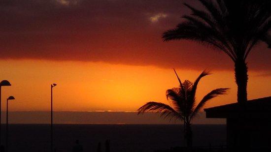 ClubHotel Riu Buena Vista: Sunset from beach area