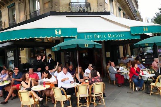 Quartier Saint-Germain-des-Prés : Les Deux Magots