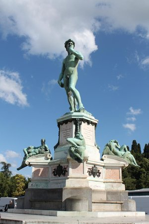 Esplanade Michel-Ange (Piazzale Michelangelo) : The David Replica