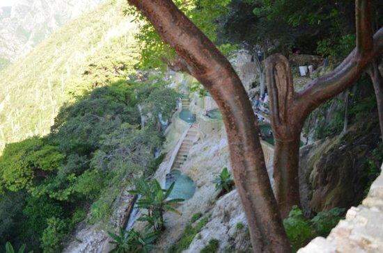 Tolantongo Caves : Las pozas en la sección de la Gloria