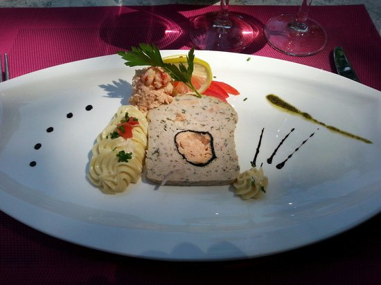 terrine de poisson picture of le redon margencel