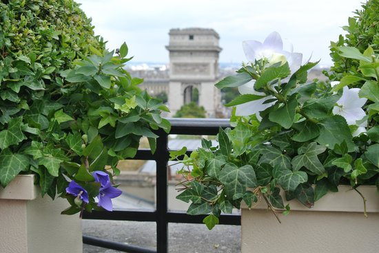 Hotel Raphael : ресторан на крыше