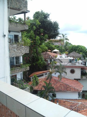 Casa Anita y Corona del Mar: viste desde la habitación hacia el mismo hotel