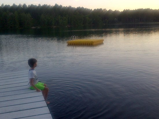 Chocorua KOA: Just Sitting On The Dock