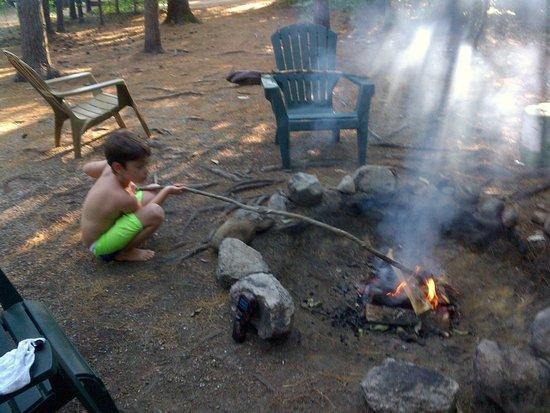 Chocorua Camping Village : Fire Pit