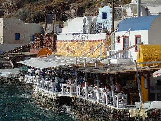 Dimitris Ammoudi Restaurant : Just beautiful