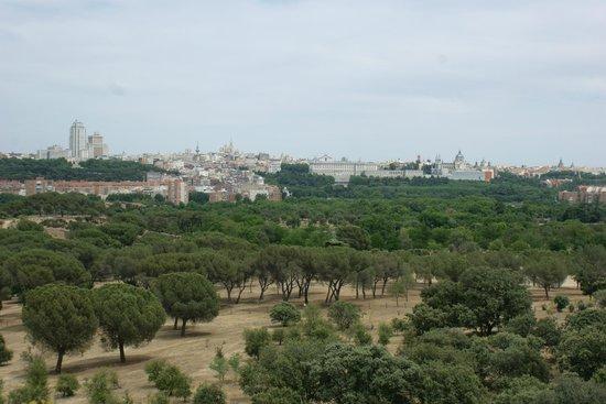 Teleférico de Madrid: Вид с той стороны )))