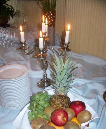 Hotel Lubicz : Festliche Tafel