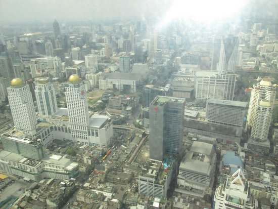 Baiyoke Sky Hotel: view from room