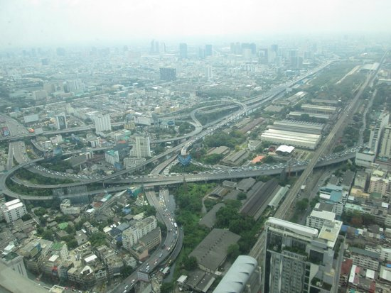 Baiyoke Sky Hotel: view from room