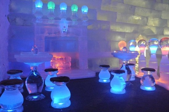 Chena Hot Springs Resort: Ice museum