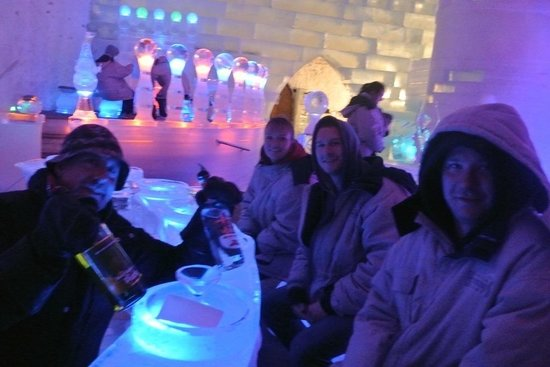 Chena Hot Springs Resort: Aurora ice museum