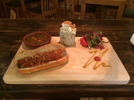 The Hairy Pig Deli: The best sausage I've ever had