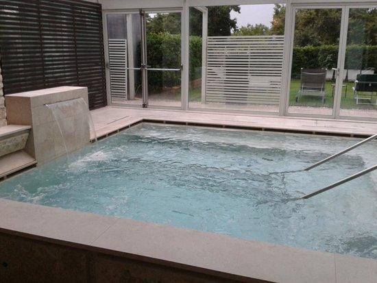 Albergo Le Terme : la piscina termale più fresca