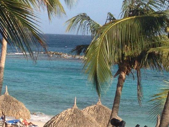 Curacao Marriott Beach Resort & Emerald Casino: View from open balcony