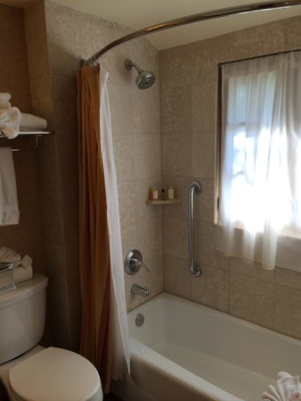 The Mission Inn Hotel and Spa: Shower