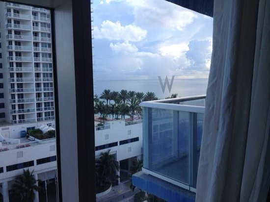 W Fort Lauderdale: room view
