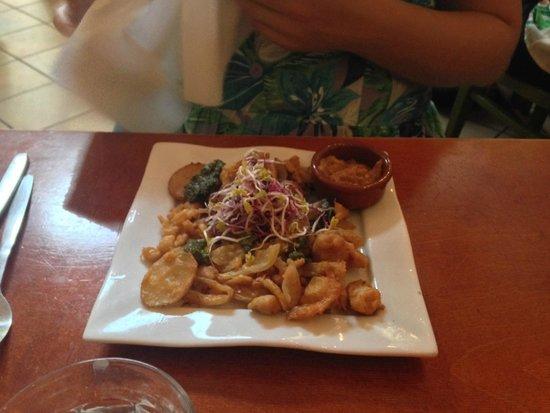 Restaurant Golden Temple : Vegetable pakora starter