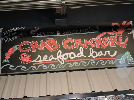 Florida Bill's Crab Cracker Seafood Bar: Our lunch spot in Ketchikan, Alaska