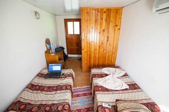 Lazer Pension: Room viewed from the window
