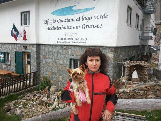 Rifugio Canziani al Lago Verde: il rifugio