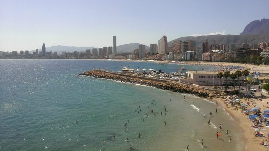 Benidorm Old Town : view from cliff