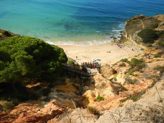 Sensimar Falesia Atlántic: Bucht unterhalb des Hotels
