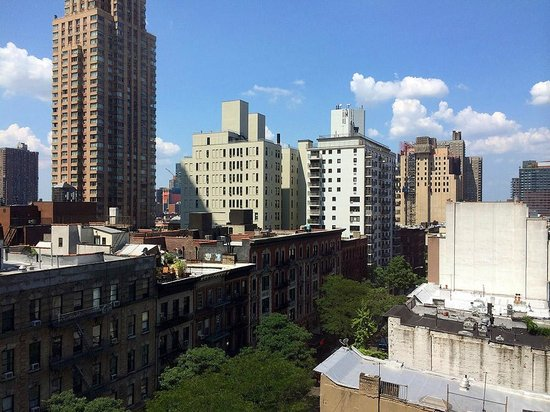 Hampton Inn Manhattan-Times Square North: View from room towards 51 st. and 9th Av.