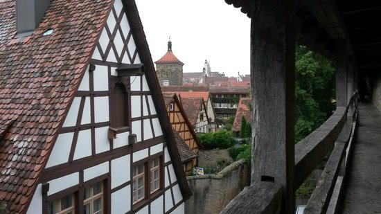 Town Walls : View from the wall