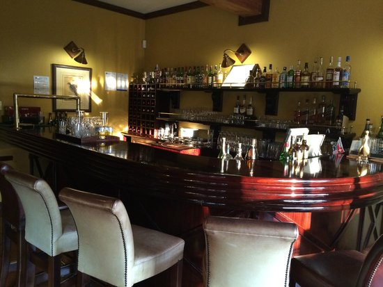 De Hoek Country Hotel: Bar area