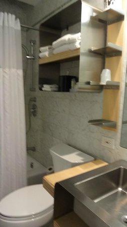 NYLO New York City : Bathroom in queen superior guestroom