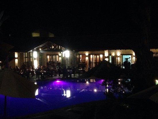Ayii Anargyri Natural Healing Spa: By night!