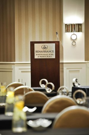 Renaissance Boston Hotel at Patriot Place: Meeting Room