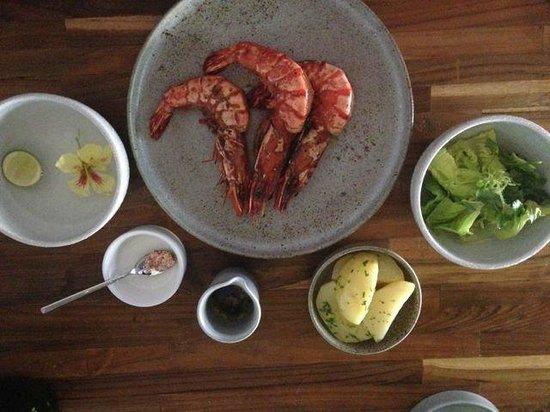 Restaurant Locavore: Shrimp entree