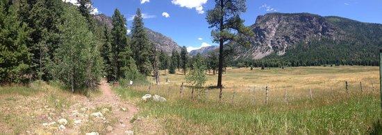 Elk Point Lodge & Cabins: Los Pinos trailhead