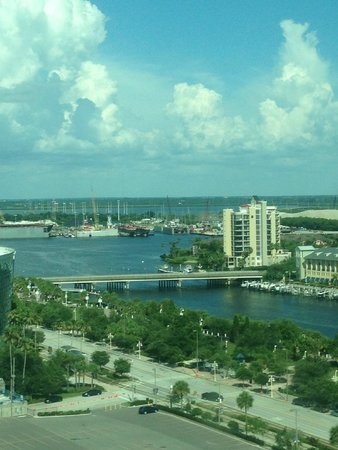 Embassy Suites by Hilton Tampa - Downtown Convention Center: Day view from our Hotel