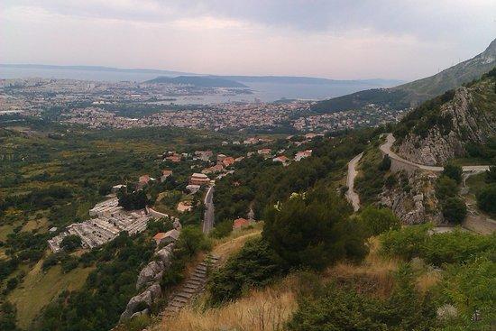 Klis Fortress: Вид на Сплит