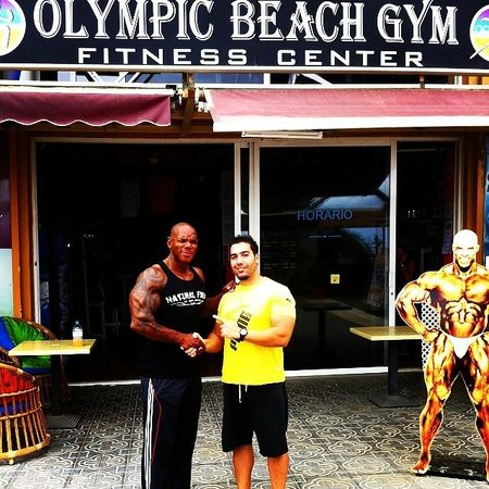 Olympic Beach Gym: FLEX WHEELER