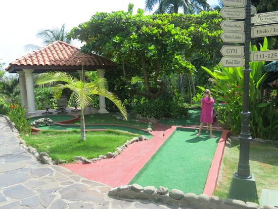 Hotel Parador: Mini golf
