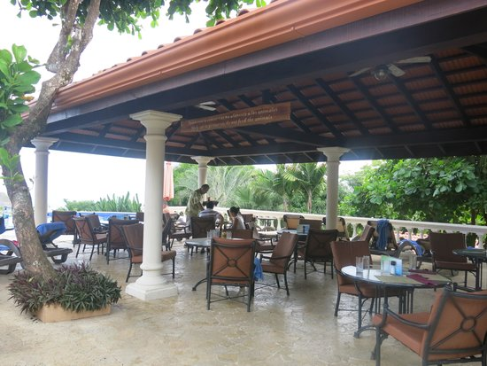 Parador Resort and Spa: Lunch area