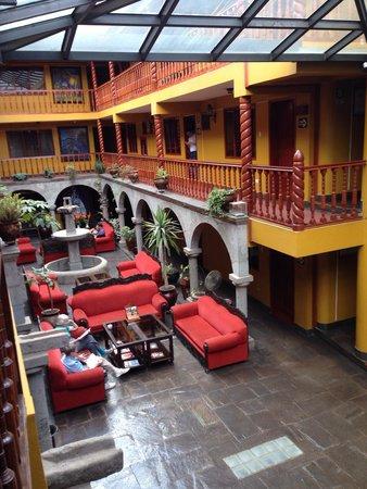 Hotel Munay Wasi: Patio