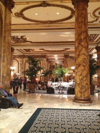 The Fairmont San Francisco: The lobby