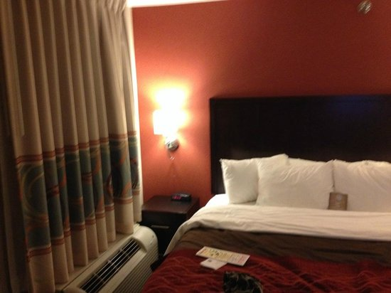 Holiday Inn Express Grove City-Prime Outlet Mall : Nice, comfy bed and pillows
