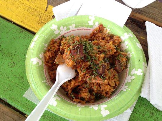 Dat Cajun Guy: Jambalaya with sausage