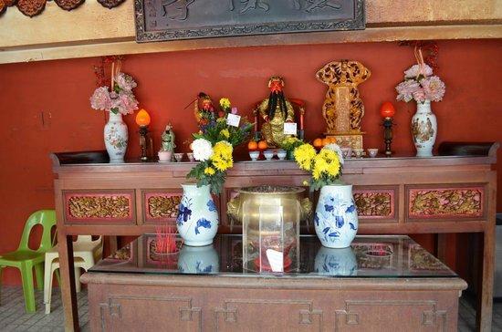 Thean Hou Temple: Kleiner Altar