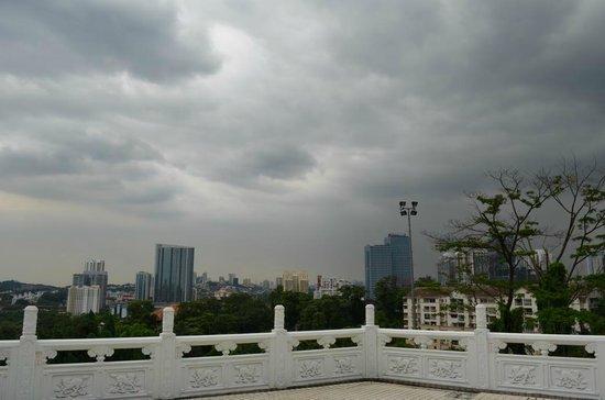 Thean Hou Temple: Aussicht auf die Stadt