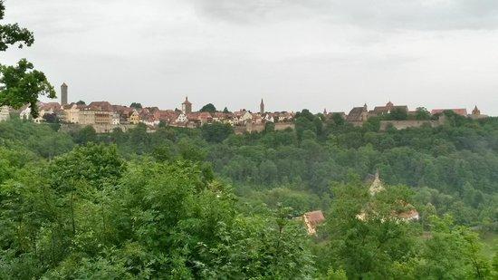 Burggarten: View from the gardens
