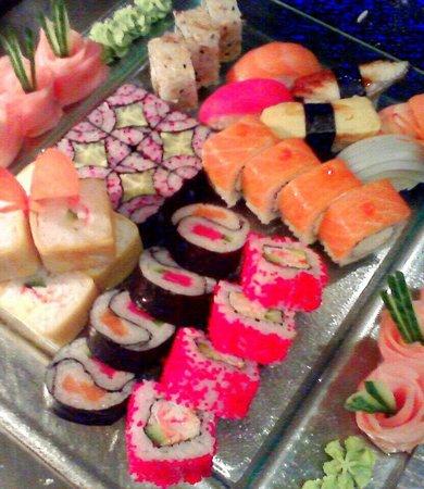 Renaissance Moscow Monarch Centre Hotel: Sushi&rolls