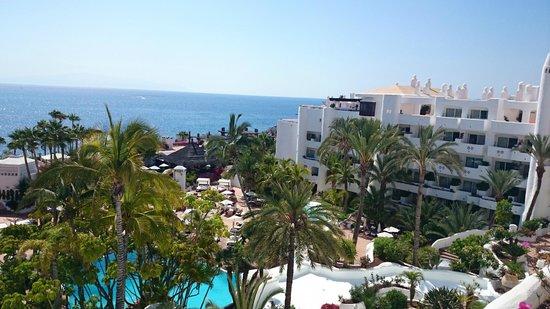 Hotel Jardín Tropical: Zimmerausblick